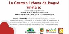 Abierto Proceso de Invitación No. 02 de 2018 Para Administración de Mobiliario Urbano