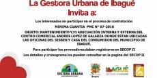 Invitación a participar en proceso de contratacion PMC N° 07-2018