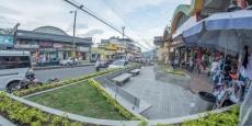 Construyen plazoleta en el centro comercial Chapinero